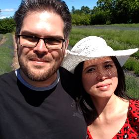 Daniel and his wife Kim