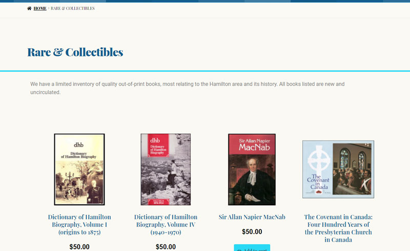 Projects - Attawandaron Hamilton's Publisher - Online Shop