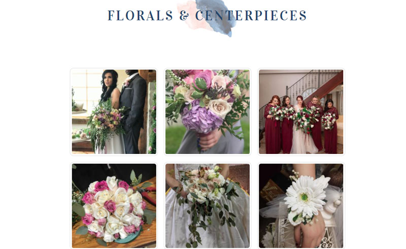 Projects - Pure Lush Designs Wedding Services Gallery