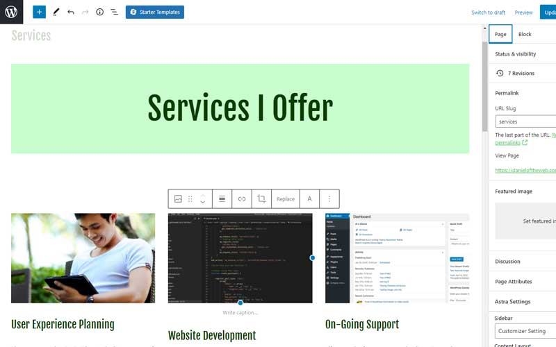 On-Going Support - Services Page